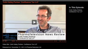 Colin Hailey talks to Pharma TV about UK R&D tax credits
