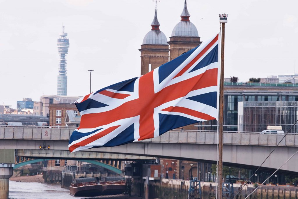 Union-Jack-flag-in London-Autumn-2017-budget-for-biotech-companies