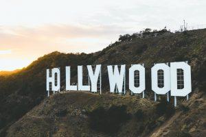 Hollywood sign USA