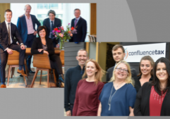 Confluence Tax team + Asjes Bisseling team in Amsterdam office